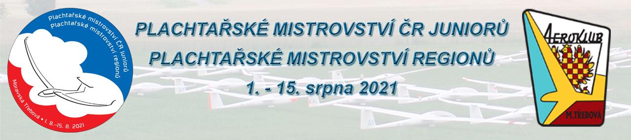 Plachtařské mistrovství regionů a juniorů ČR 2021